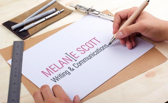 Logo for Melanie Scott Writing & Communications