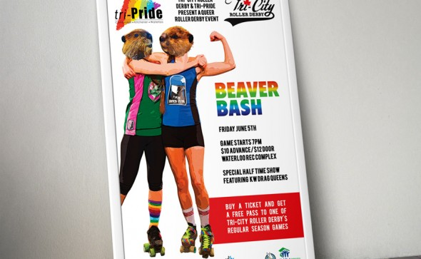 Poster for Beaver Bash Event