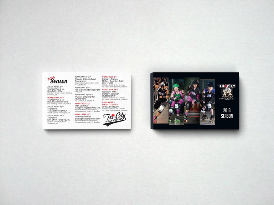 Postcard for TCRD seasons